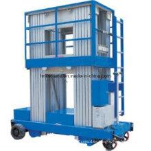 Henan Precio de fábrica Plataforma elevadora hidráulica de elevación de aluminio para elevación
