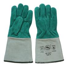 Ab Grade Cowhide Split Leather Protective Welder′s Gloves