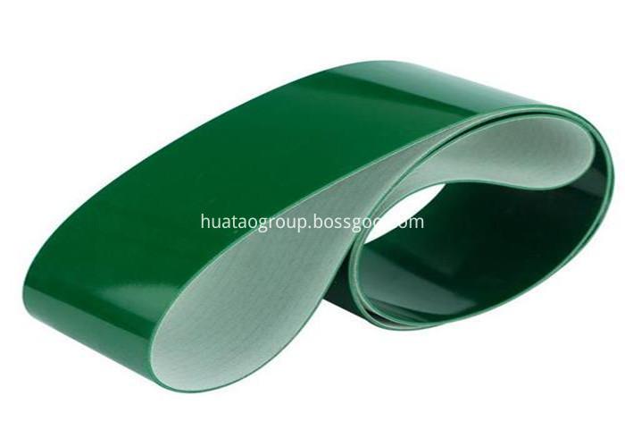 2mm Ply Green Conveyor Belt Smooth Pvc Belt