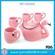 China Kitchenware Pink Fancy Grace Teaware Teapot Set