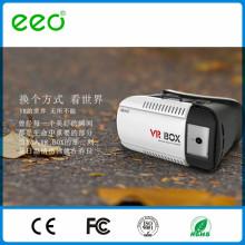 Для 3,5-6-дюймового мобильного телефона с полной диафрагмой объектива с дистанционным управлением 3D-гарнитура Vr VR Box 2.0