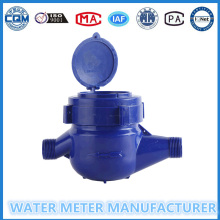 ABS Plastic Mechanical Water Meter of Multi Jet Dry Dial Cold Meter