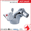 simple style hot and cold bidet faucet with ceramic valve and chrome plated