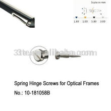 Optical Screws,Self-Aligning Screws,Nose Pad Screws,Rimless Screws,Hinge Screws