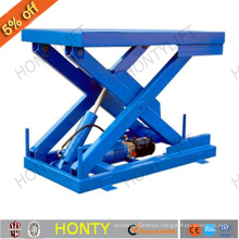 Manual hydraulic lifting table trolley