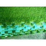 Natural Landscaping Artificial Grass With EVA Back Mat