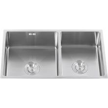 S2101u Undermount Stainless Steel 304# Double Bowls Sink