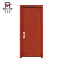 Diseño caliente de la puerta del panel de madera del acero de fastcolours para el hogar