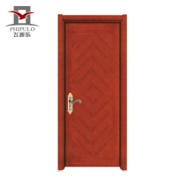 hot sell fastcolours steel wood panel door design for home