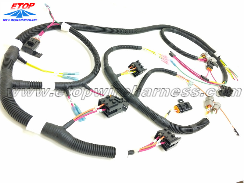 complicated wire harnesses for automotive applications