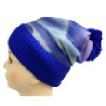 Трикотажная шапочка с сублимационной печатью NTD1666