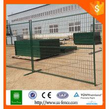 Alibaba Alto estándar de PVC galvanizado recubierto de valla temporal / cerca portátil