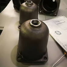 Ductile Iron Casting Machined Pump Housing