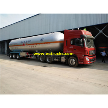 60 CBM 25ton Used LPG Semi Trailers