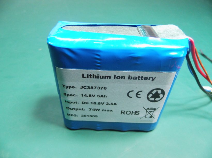 Battery Pack with LCD Display
