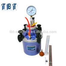 Mètre d'entraînement d'air de mortier de ciment de T-BOTA / compteur de contenu d'air