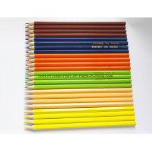24PCS hölzerner Farben-Bleistift für Förderungs-Geschenk