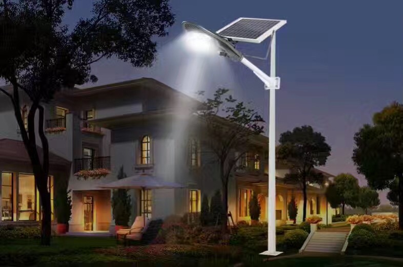 20w led solar street light motion sensor