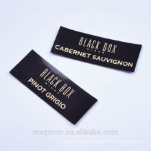 2016 OEM custom black color advertising paper fridge magnets supplier