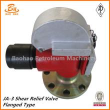 Тип фланцевого предохранительного клапана редуктора JA-3