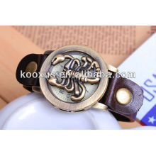 leather watch band leather watch bracelet leather strap KSQN-08
