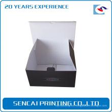 Caja de empaquetado caliente pequeña del producto al por menor para mini ventilador de electronicl