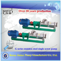 Hydraulic portable sewage screw pump
