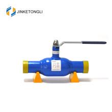 JKTL válvula de controle de fluxo de ferro fundido de aplicação de permutador de calor 1/4 de volta
