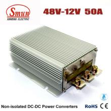 Fuente de alimentación del coche del convertidor de 48V a 12V 50A 600W DC-DC