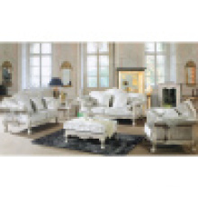 Antique Sofa with Wooden Sofa Frame and Side Table (D650)