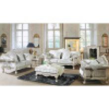 Антикварный диван с деревянной рамкой софы и столик (D650)