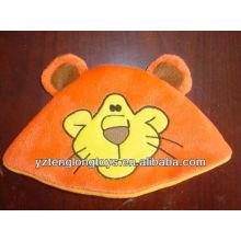 Sombrero lindo y encantador del bebé de la felpa de la cara del tigre de la alta calidad