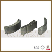 Diamond Core Drill Bit Segment