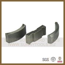 Segmento de segmento de broca Diamond Core