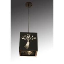 e27 black wood pendant light for restaurant