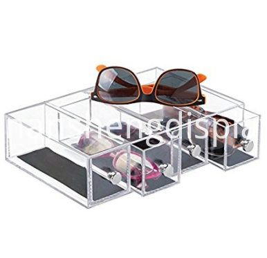 Acrylic Organizer Holder Storage Case