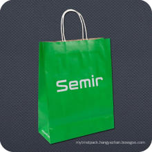 Promotional Kraft Paper Carrier Bag with Twist Handle