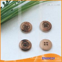 Botones de madera naturales para la prenda BN8002