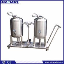 Système CIP de brasserie en acier inoxydable, système de nettoyage CIP