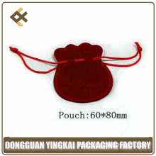 Elegant Wholesale Custom Printed Velvet Pouch