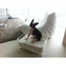 Luxury Handmade Acrylic Pet Dog Bed