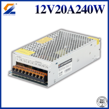Fuente de alimentación LED Swithcing 12V 20A 240W