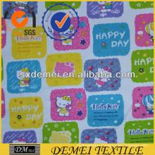 cotton fabric for children animal design