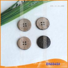 Botões naturais de coco para vestuário BN8045