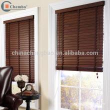 China Lieferant Faux Holz Jalousien Holz Fenster blind