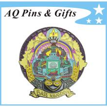 Metal Soft Enamel Badge for Kingdom (badge-157)