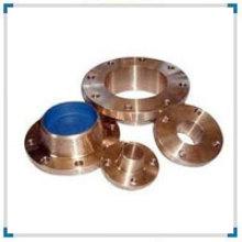 ASTM / ASME Sb 61/62/151/152 n ° C 70600 (CU-NI-90/10) Bride en alliage de cuivre
