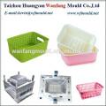 plastic houseware fruit basket injection mold/fruit&vegetable basket injection mould