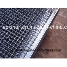 Treillis métallique serti pour la maille d'écran de tamis minier