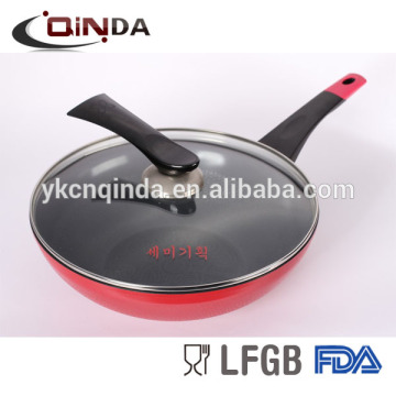 Coréen antiadhésif fonte décalcomanie wok